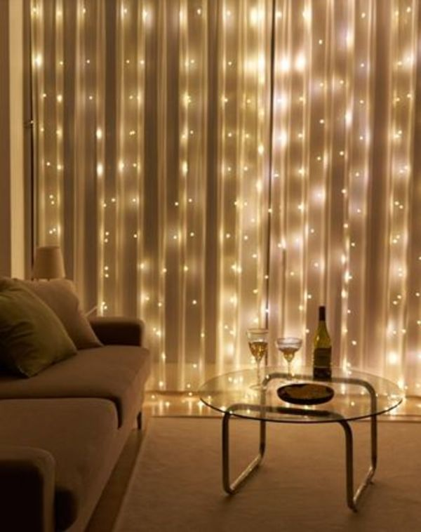 【DECO VIEW】LED curtain lighting
