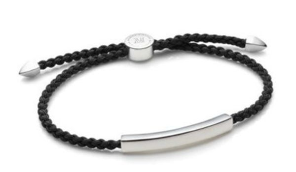 【Justin Bieber愛用】Linear Friendship Bracelet in Black