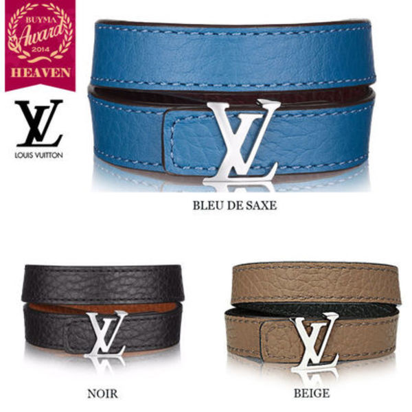 TOPセラー賞受賞!#LOUIS VUITTON#BRACELET REVERSIBLE LV INITI