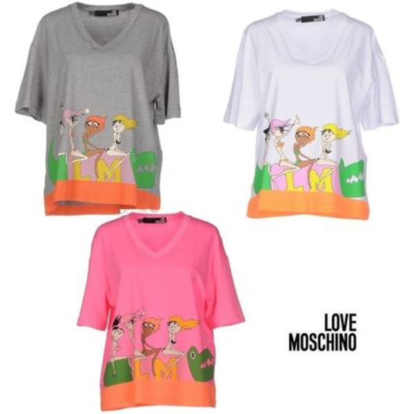 SALE !! ★LOVE MOSCHINO★LM  Tシャツ☆3色