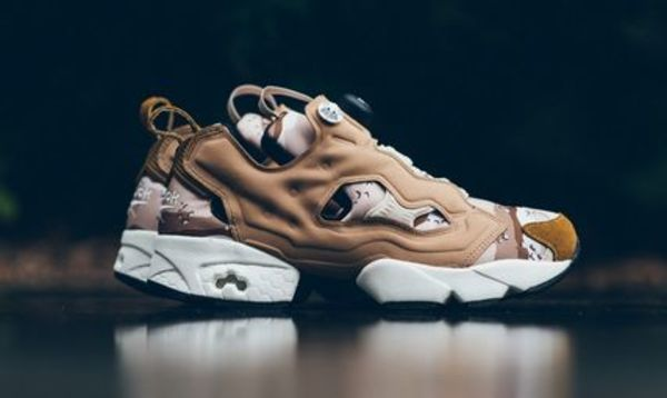 Reebok Instapump Fury OG Camo - Tweed Brown/Gold