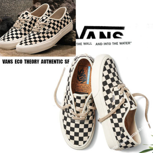 VANS★ECO THEORY AUTHENTIC SF★チェック柄★兼用