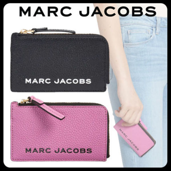 【MARC JACOBS】Logo Leather Zip Wallet <国内発送>