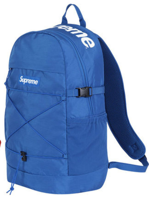 16SS新作☆SUPREME Backpack 210 Denier Cordura 青☆国内発送☆