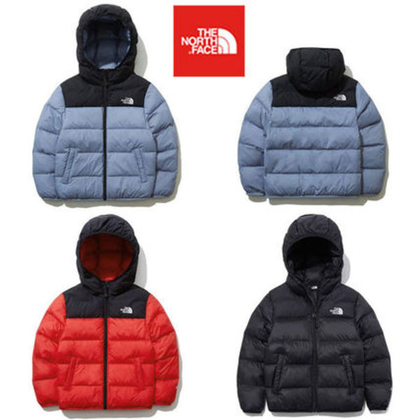 ★THE NORTH FACE★大人気 K'S COLOR T-BALL NUPTSE EX HOODIE
