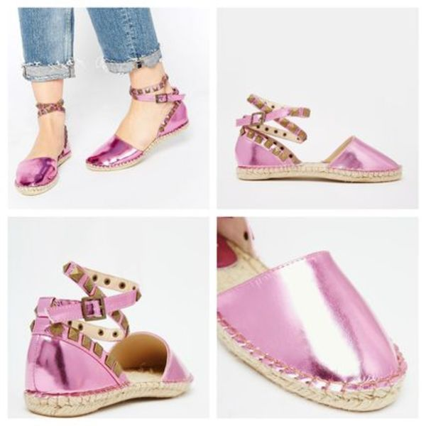 【ASOS 限定SALE!】Cute Core Mandy Ankle Strap Espadrilles