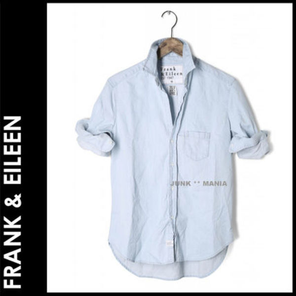 ★即日発送【関税返金・FRANK&EILEEN】EILEEN/SUPER FADED DENIM