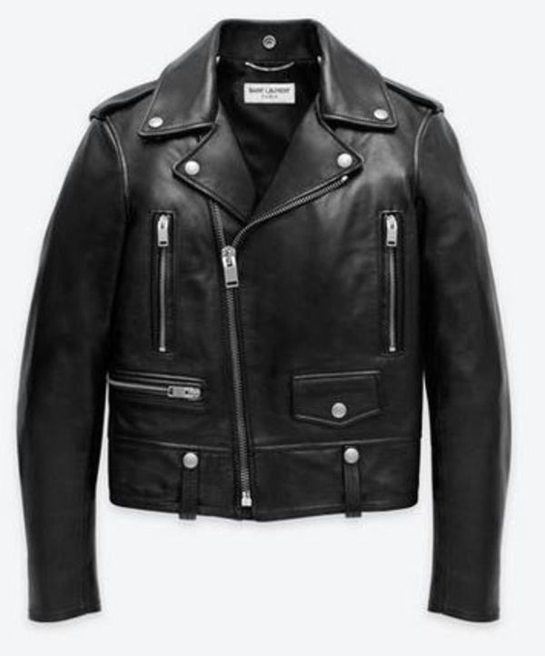 国内発送★Kate Moss愛用 Saint Laurent Motorcycle Jacket