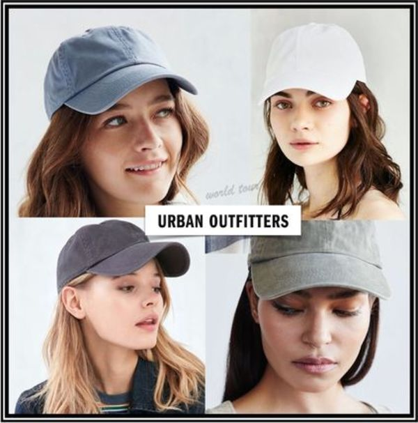 ★Urban Outfitters★ウォッシュ加工キャップ ●関税込+追跡No付