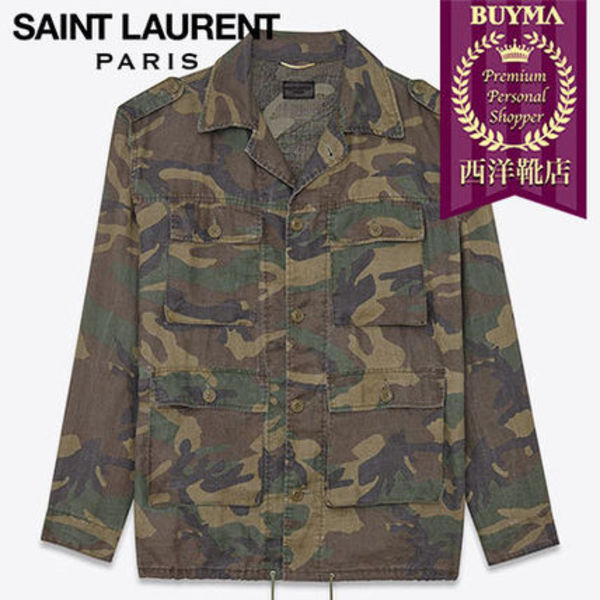 SAINT LAURENT 16SS┃HUNTER JACKET ┃ 421287Y380L