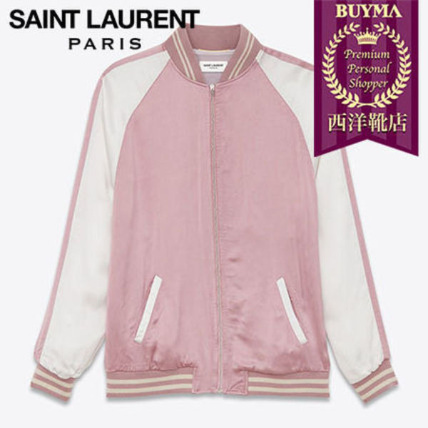 SAINT LAURENT 16SS┃OVERSIZED TEDDY JACKET ┃426516Y469L