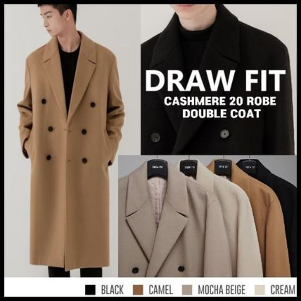 ★DRAW FIT★2020F/W大人気★CASHMERE 20 ROBE DOUBLE COAT[4種]