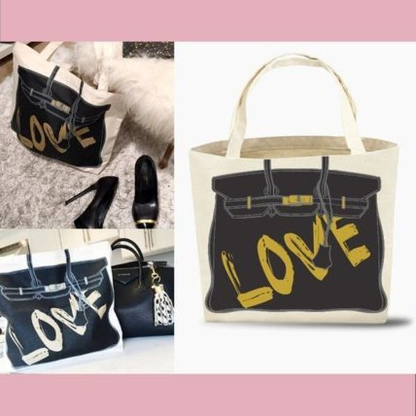 【My Other Bag】新作★キュートなエコトートAudrey/Love