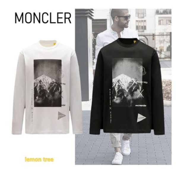 MONCLER 長袖Tシャツ and wanderコラボ 2 Moncler 1952
