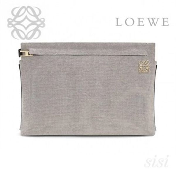 LOEWE★ロエベ T Pouch クラッチバッグ
