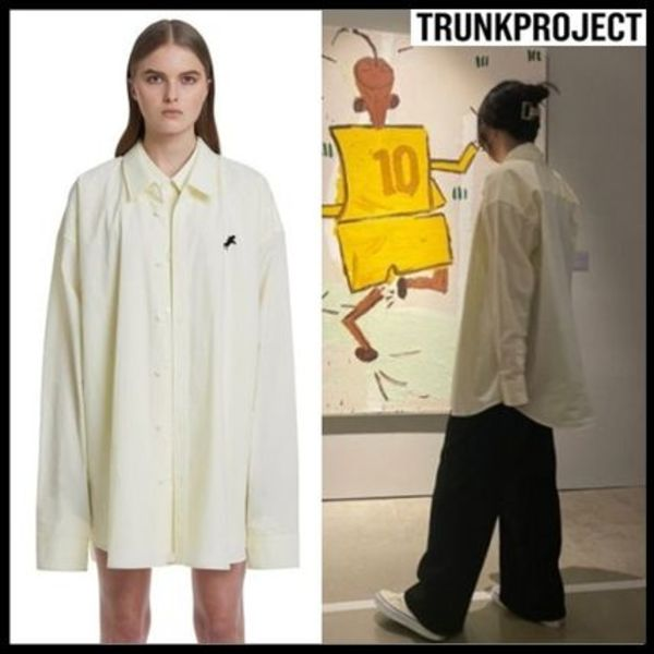☆TRUNK PROJECT☆SEVENTEEN 着用シャツ Double Layered Shirts