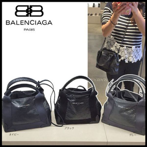 BALENCIAGA 2wayレザートート