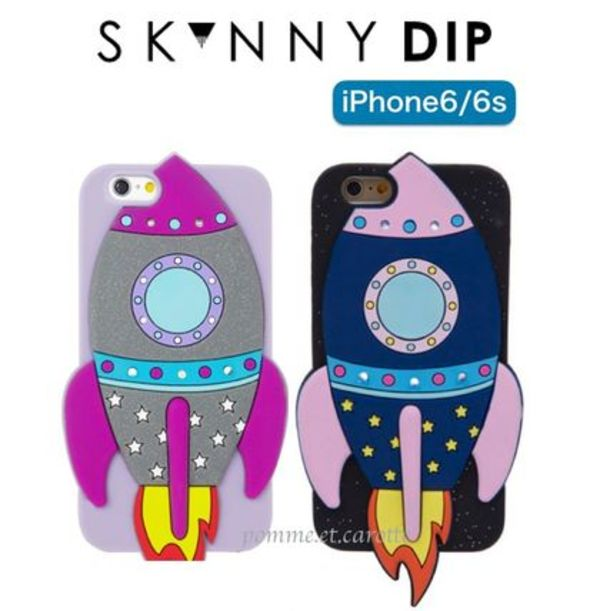 【日本未入荷】☆SKINNYDIP iPhone6/6s★ROCKET CASE【送関込】