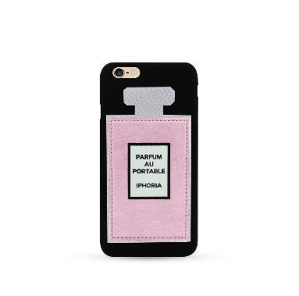 ★IPHORIA★ケース「Rose Perfume Patch Case Black」ベルリン発