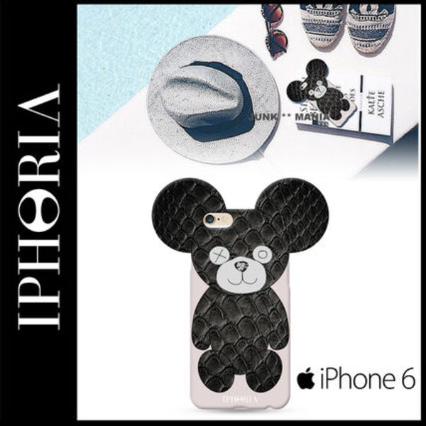 ★【関税返金・IPHORIA】iPhone6&6S/Snake Teddy