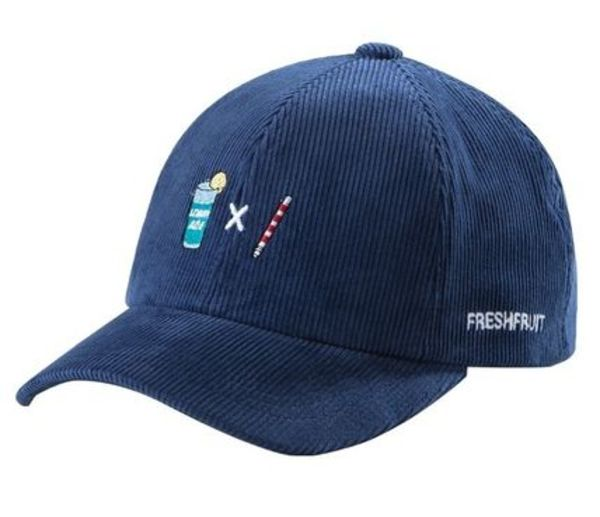 [Fresh Fruit][DHL安心発送] スンユン着用 ★ LEMONADE BLUE CAP