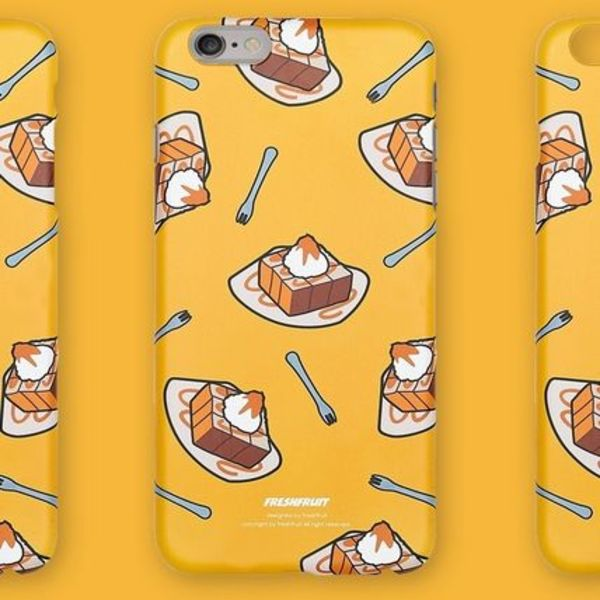韓国■Fresh Fruit■HONEYBREAD MUSTARD ■iPhone 6/6S/6+ case
