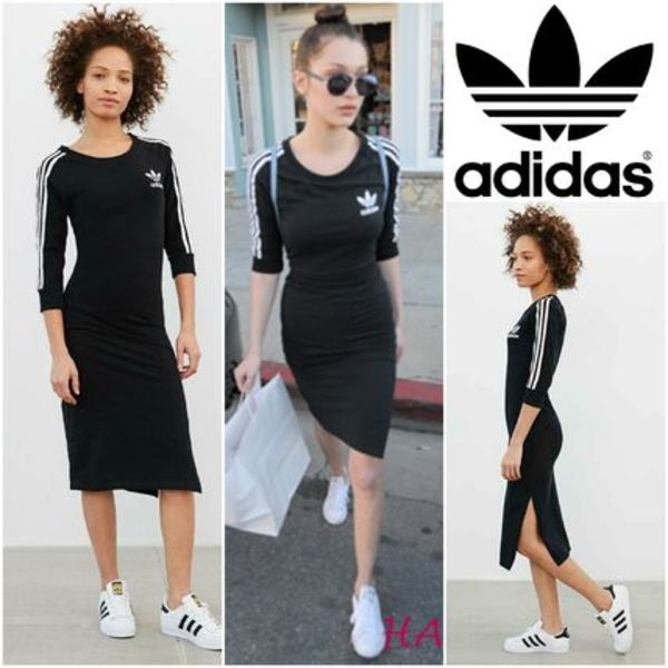 Adidas 3-Stripes Midi Dress