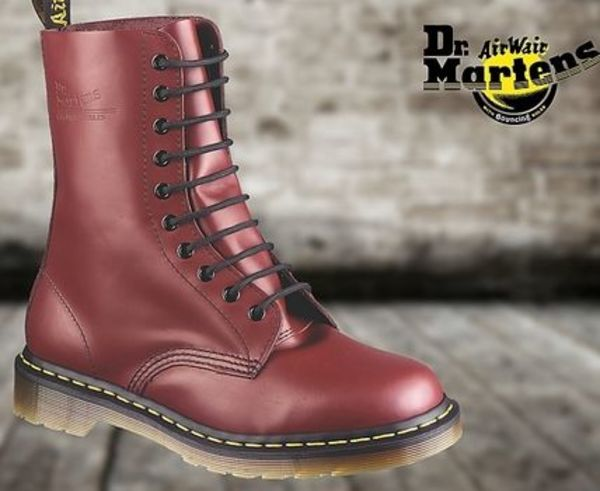 ☆★Dr. Martens★☆1490 - 10 EYE BOOT CHERRY RED 11857600