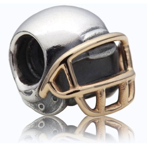 PANDORA パンドラ Football Helmet Charm With 14K 790570
