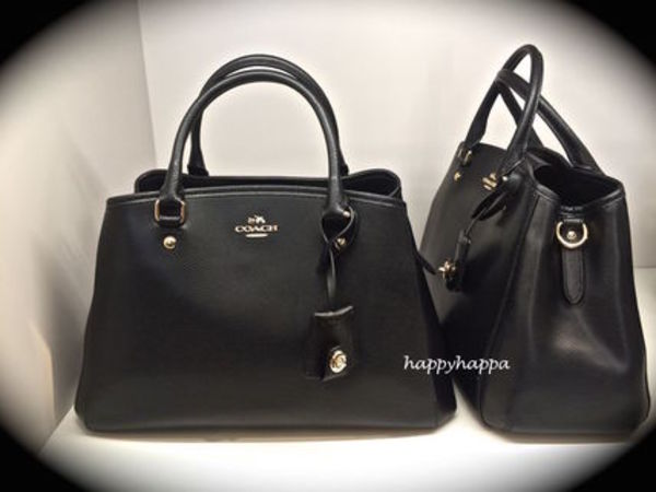 【Coach】大人気!16年1月入荷!SMALL MARGOT CARRYALL☆black