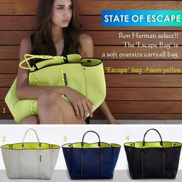 <関税送料込>Ron Hermanセレクト*State of EscapeトートBAG