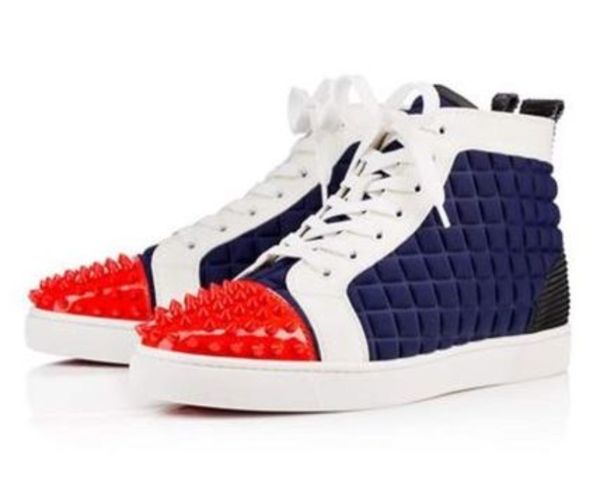 16SS新作 LOUBOUTIN ルブタン LOU SPIKES スパイクスニーカー