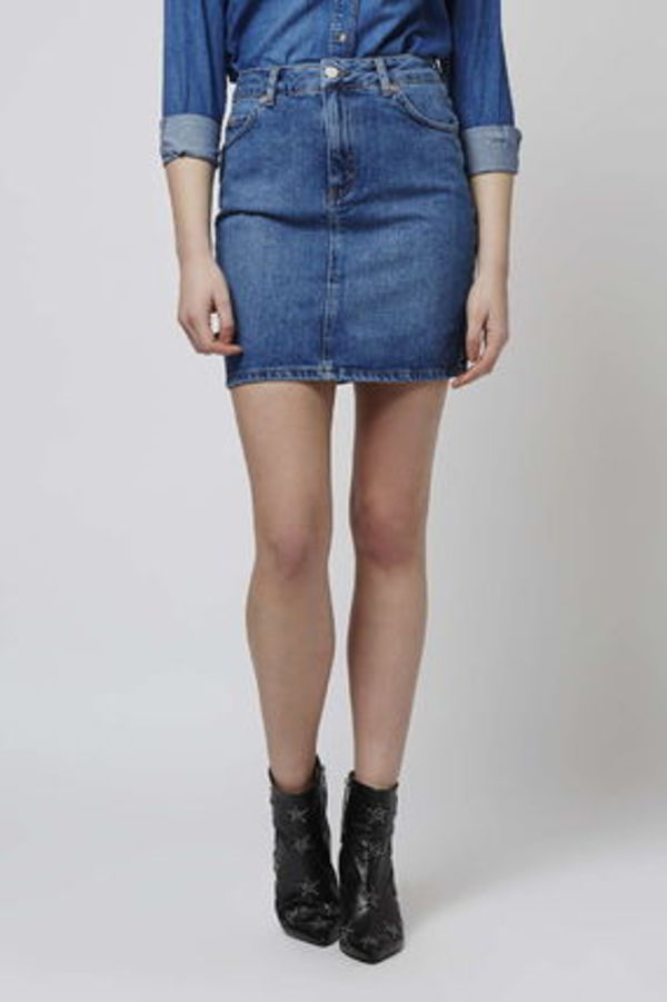 《ハイウエスト・ミニ♪》☆TOPSHOP☆High-Waisted Mini Skirt