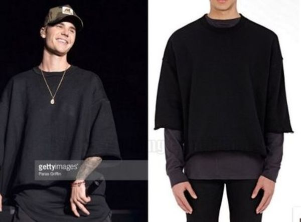 【Justin Bieber愛用】☆日本未入荷☆French Terry Sweatshirt