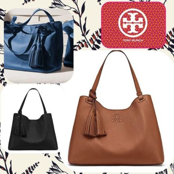 限定セール Tory Burch Thea center zip tote