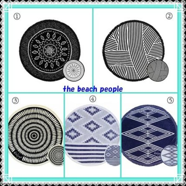 Ron Herman★The Beach People★VOLUME TWOラウンドタオル