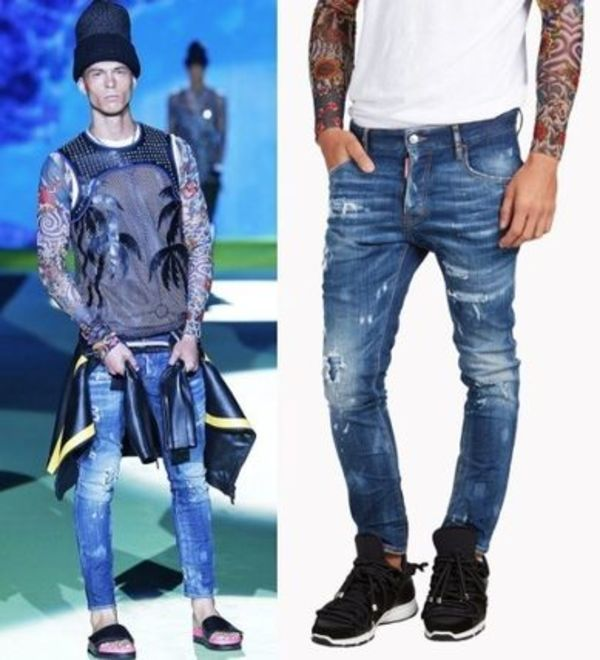 16SS DSQUARED2 Kenny Twist Jeansデニム S71LB0107S30342470