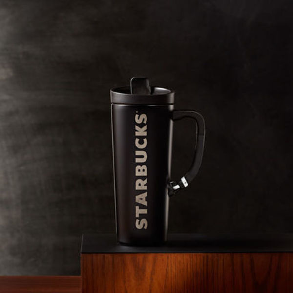 SO!!!!NEW 2016★US STARBUCKS★Stainless Clip Black Tumbler
