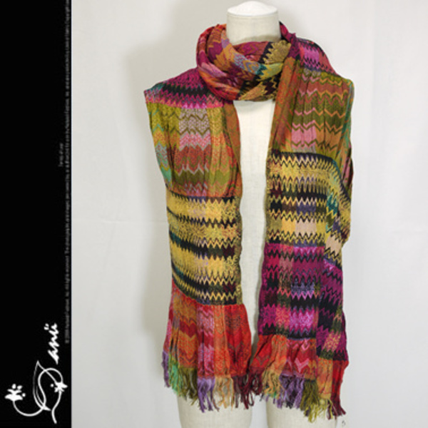 (最短翌日着)Anu by Natural Missone Scarf