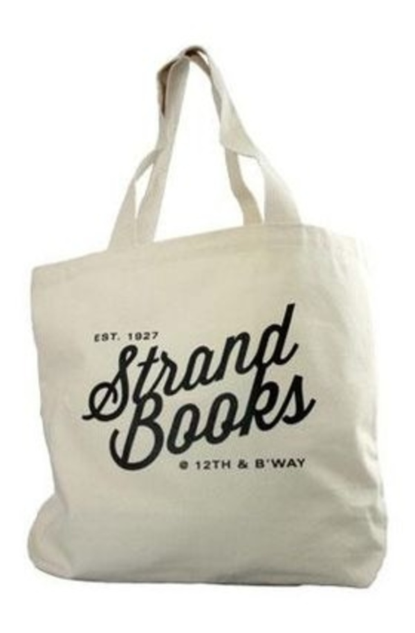 NY人気No1★送料込★STRAND Tote Natural 12th and Broadway