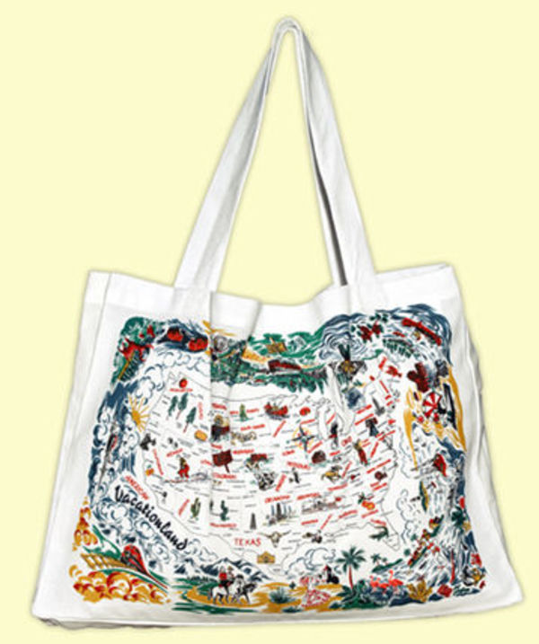 ★The Red & White Kitchen★Tote Bag vacationland ト-トバッグ