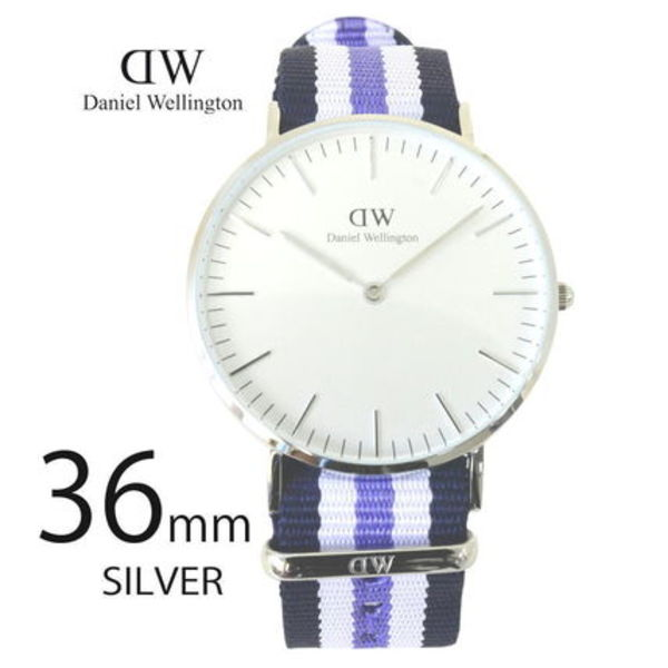 Daniel Wellington 36mm Classic Trinity Lady 0609DW