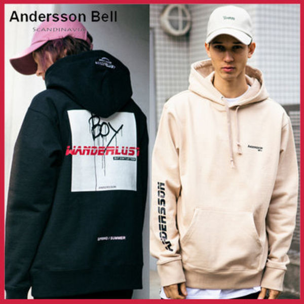 ★16SS新作★ANDERSSON BELL正規品★男女共用UNISEXパーカー/4色