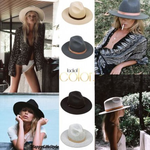 Fedora Hat 4Types Prism/ Mack/ Rocco/ Oracle ★lack of color