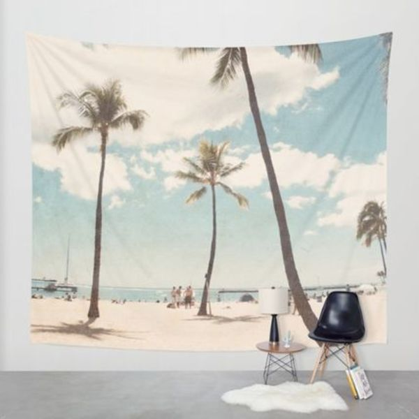 Society6◆タペストリー◆Hawaii by Retro Love Photography