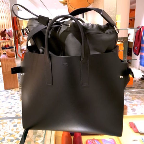 HERMES HOMME/2016 SS Defile!!【SAC CABACITY 45】NOIR/PLOMB
