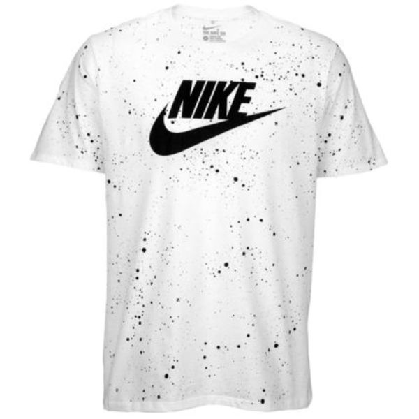 FW15 NIKE SWOOSH SPARKLE TEE MEN'S WHITE S-2XL 白 送料無料