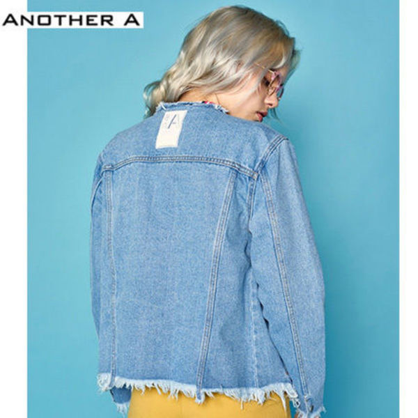 【ANOTHER A】正規品★韓国人気★デニムジャケット(追跡配送)