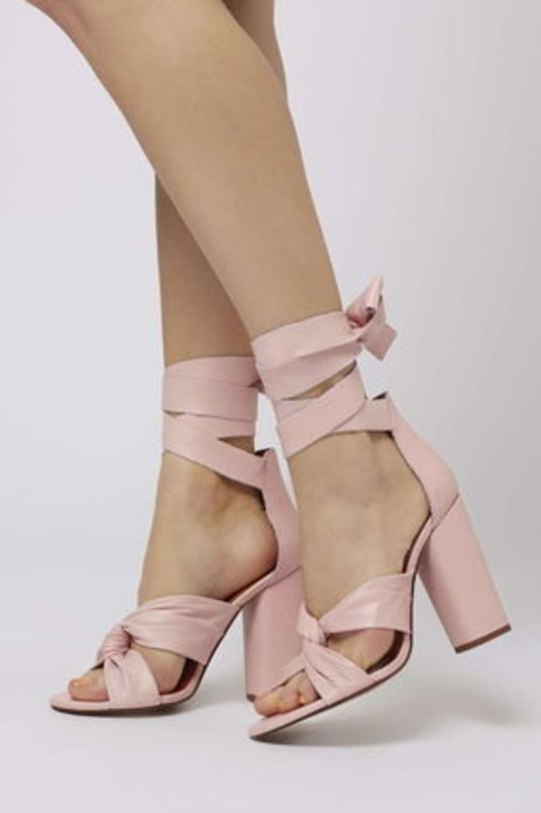 ☆TOPSHOP☆ROSA Knotted High Sandals