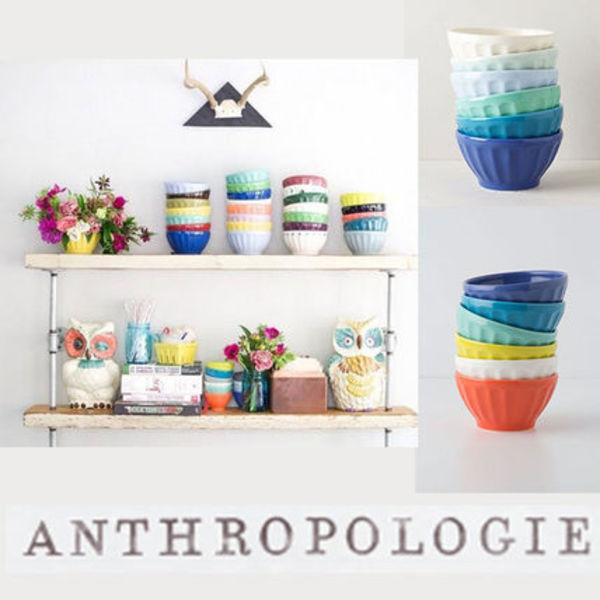 Anthropologie*Latte ボウル 6点セット♪